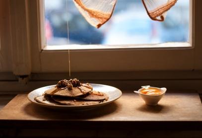 colazione alla finestra