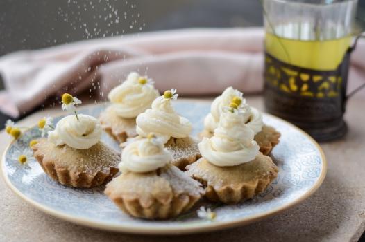 muffin veg camomilla