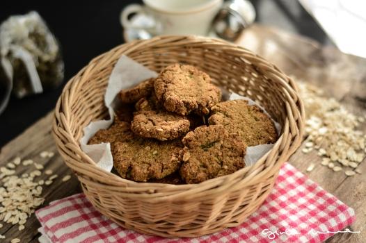 biscotti di zucchine cesto